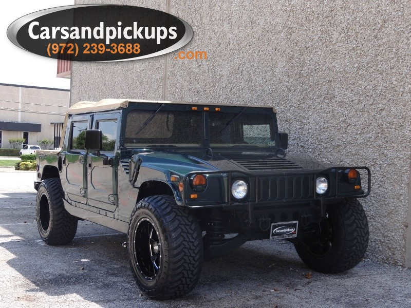 1995 Hummer H1 Open Top 4 Door 4dr Open Top Hard Doors Clean Carfax65L DieselOpen TopNew