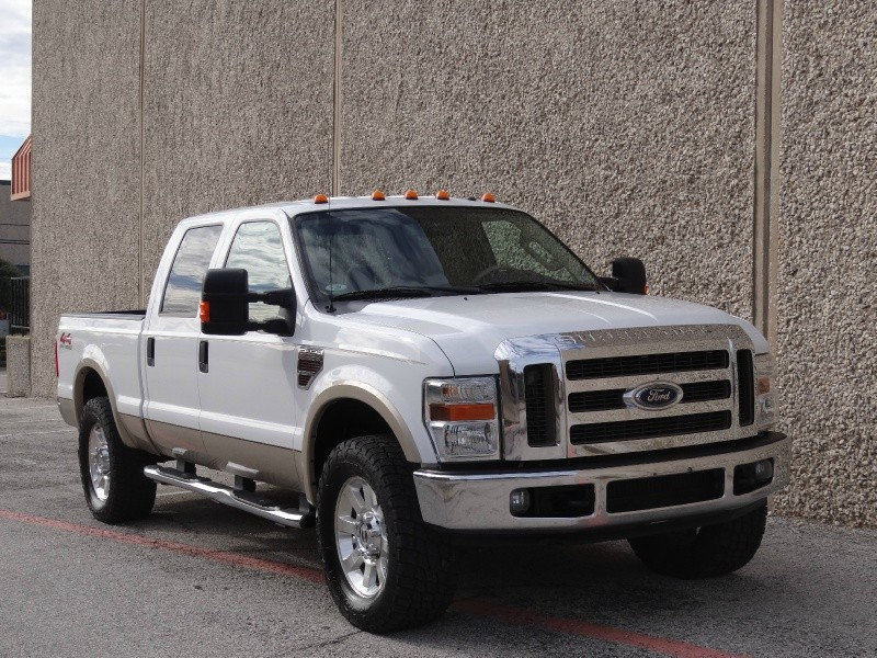 2008 Ford Super Duty F-250 4WD Crew Cab Lariat 1 OwnerClean Carfax Certified64L Powerstrok