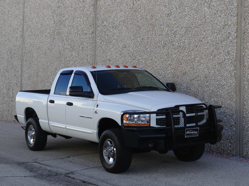 2006 Dodge Ram 2500 4dr Quad Cab 4X4 SLT 1 OwnerClean CarfaxDodge 25004x4Quad CabSLT