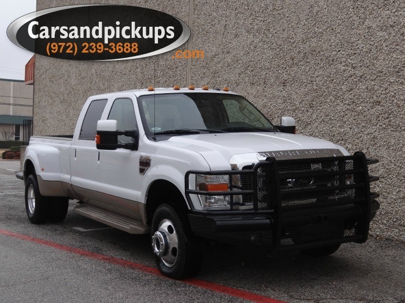 2008 Ford Super Duty F-350 DRW 4WD Crew Cab King Ranch 2 OwnerClean CarfaxFord F-350Crew