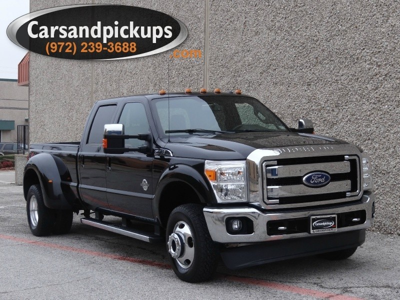 2011 Ford Super Duty F-350 Lariat Dually 4X4 Crew Cab Lariat 1 OwnerClean Carfax2011 Ford F