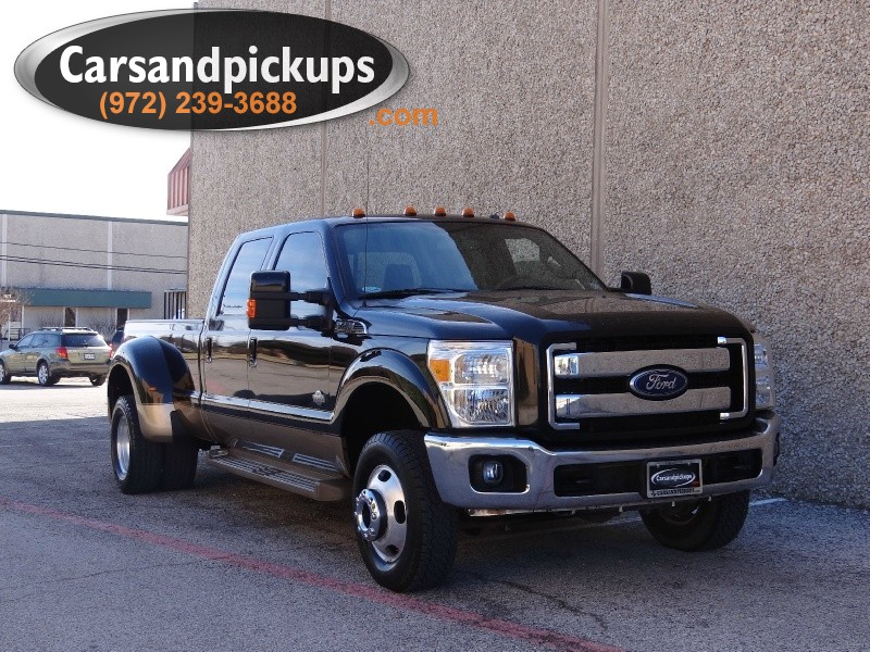 2011 Ford Super Duty F-350 DRW 4WD Crew Cab King Ranch Clean CarfaxKing Ranch4X4Crew Cab