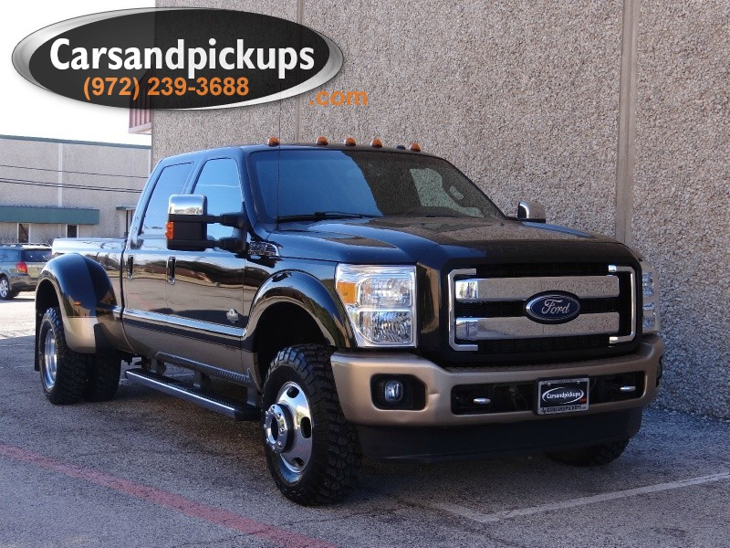 2011 Ford Super Duty F-350 Dually King Ranch 4WD Crew Cab King Ranch  Carfax 1 OwnerKing Ran