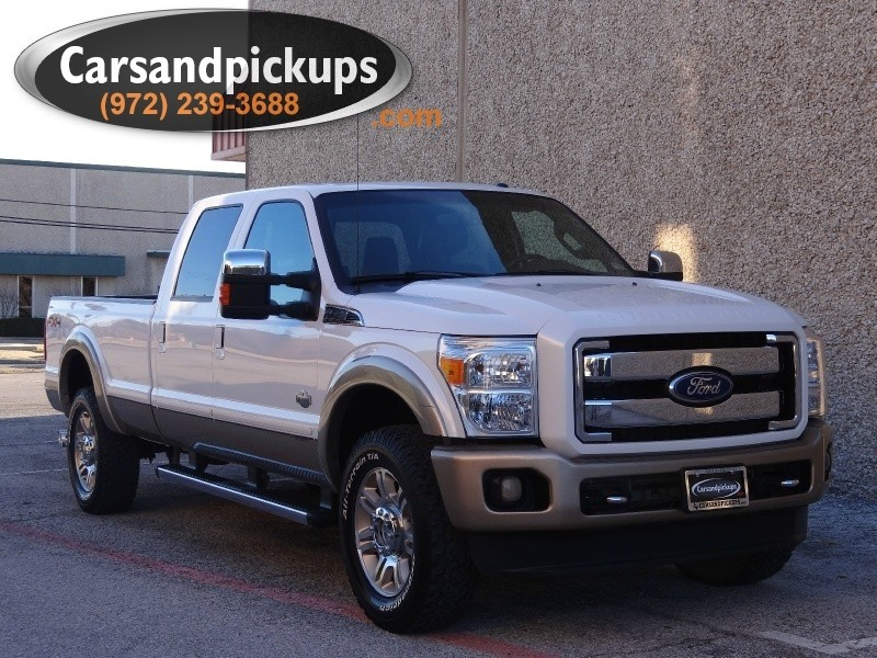 2011 Ford Super Duty F-350 4WD Crew Cab King Ranch 1 OwnerClean CarfaxKing Ranch4X4Crew