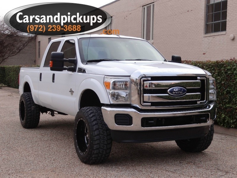 2012 Ford Super Duty F-250 4X4 Crew Cab XLT  1 OwnerClean Carfax67L Powerstroke4x4Cr