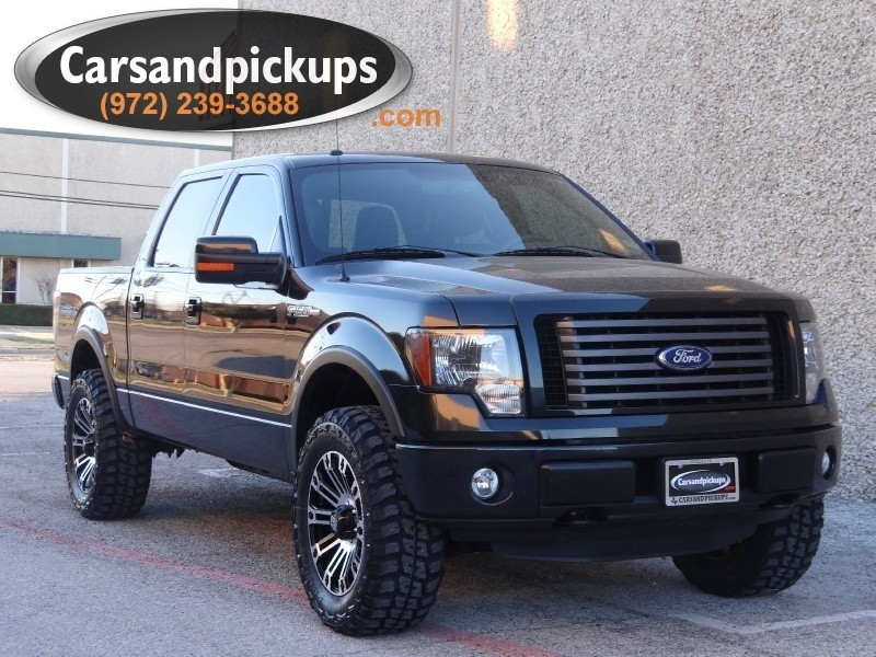 2011 Ford F-150 4WD SuperCrew FX4 Carfax Certified2011 FordF1504x4SupercrewFX4Leather
