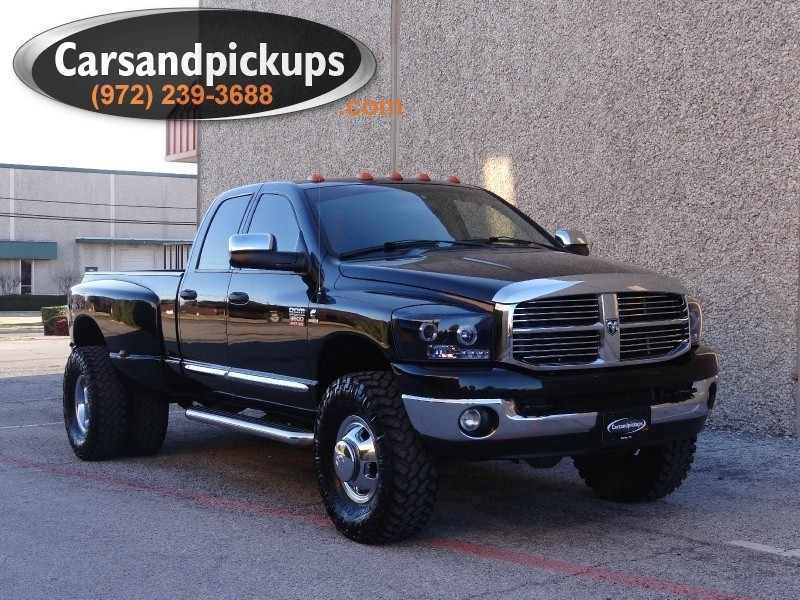 2008 Dodge Ram 3500 4WD Quad Cab SLT 1 OwnerClean Carfax6 Speed Manual Transmission2008 D