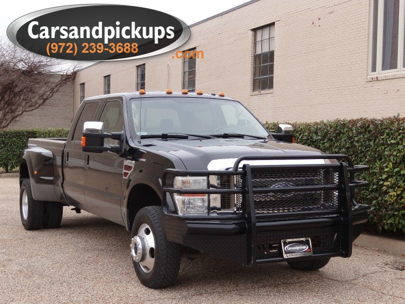 2008 Ford Super Duty F-350 DRW 4WD Crew Cab 172 Black Brown 135302 miles Stock D14322 VIN