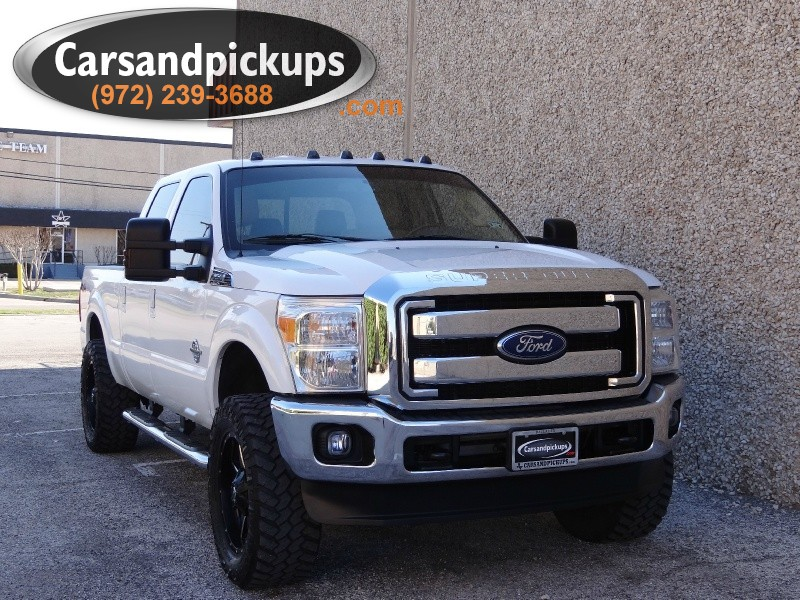 2011 Ford Super Duty F-250 SRW 4WD Crew Cab  1 OwnerClean Carfax67L Powerstroke4x4Cr