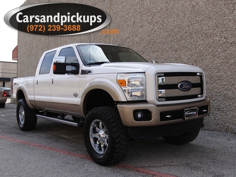 2011 Ford Super Duty F-250 SRW 4WD Crew Cab King Ranch 2 OwnerClean CarfaxKing Ranch4X4