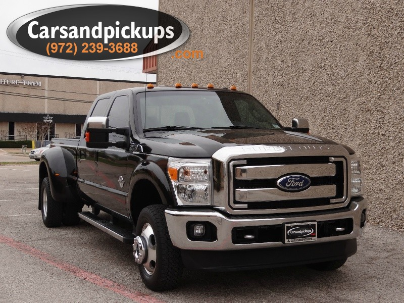 2011 Ford Super Duty F-350 DRW 4WD Crew Cab Lariat 1 OwnerCarfax Certified2011 Ford F-350 L