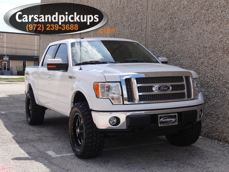 2010 Ford F-150 4WD SuperCrew 145 1 OwnerClean Carfax2010 FordF1504x4SupercrewLariat