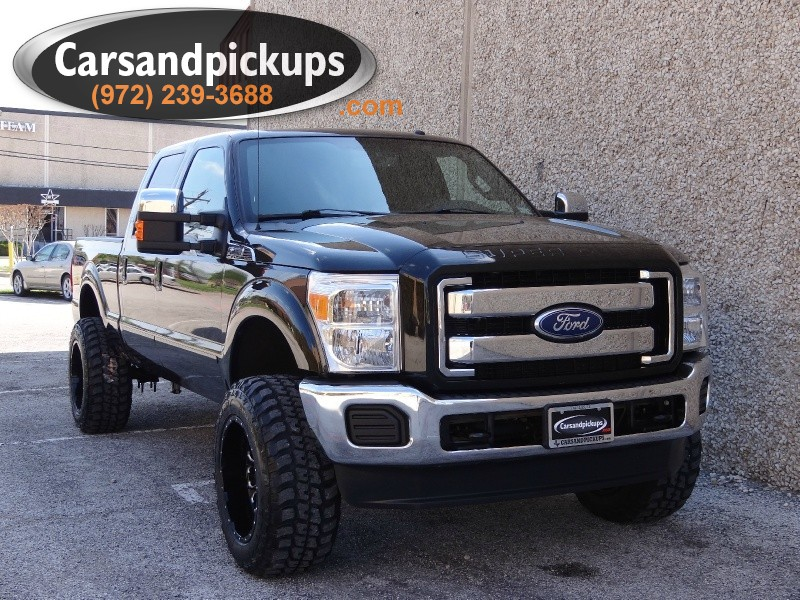 2011 Ford Super Duty F-250 SRW 4WD Crew Cab 156  2 OwnerClean Carfax67L Powerstroke4x4