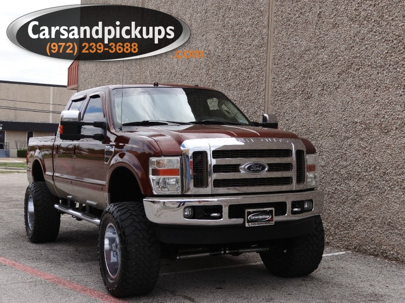 2008 Ford Super Duty F-250 SRW 4WD Crew Cab 2 OwnerClean Carfax2008 Ford F-250Sunroof4X