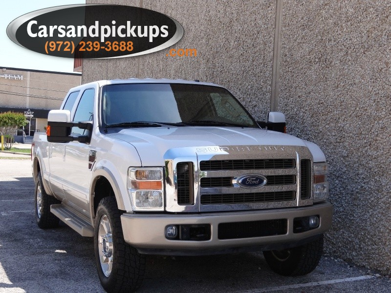 2008 Ford F-250 4WD Crew Cab King Ranch Clean CarfaxFord F-250Crew Cab4x464L Powerstroke