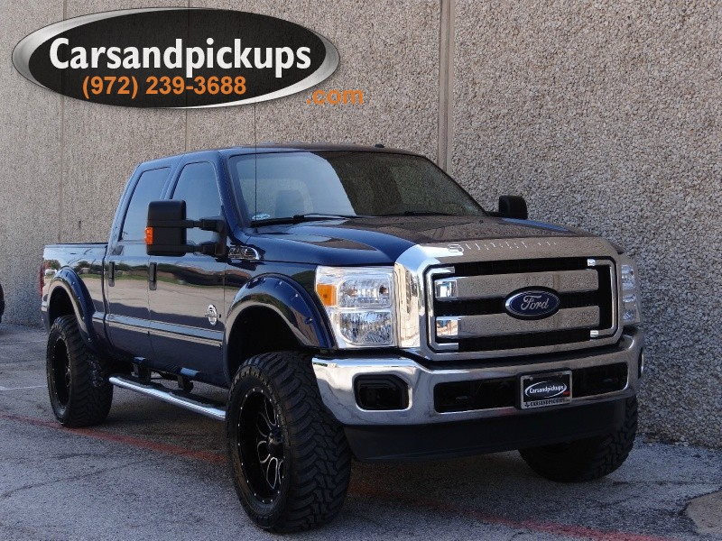 2011 Ford F-250 4WD Crew Cab XLT Leather One OwnerClean Carfax2011 Ford Super Duty F-2504x4