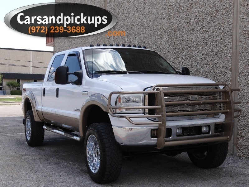 2005 Ford F-250 Crew Cab 2 OwnerClean Carfax2005 Ford F-250Crew CabLariat4x4Lifted6