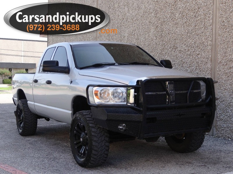 2007 Dodge Ram 2500 4WD Quad Cab Clean Carfax2007 Dodge Ram 25004x4Quad CabSLT Package