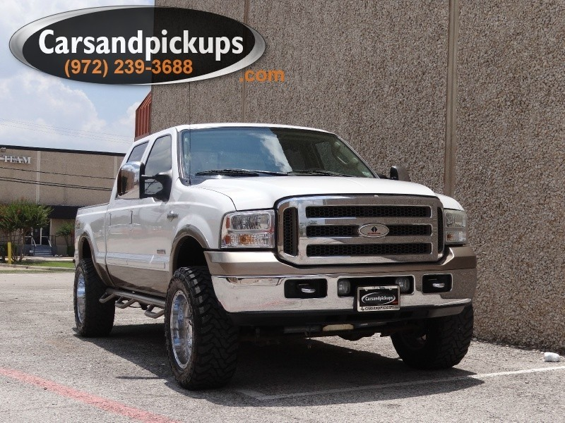 2007 Ford F-250 4WD Crew Cab King Ranch Clean Carfax2007 Ford F-2504x4Crew Cab60L Power