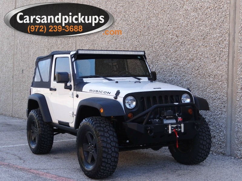 2008 Jeep Wrangler Rubicon 4WD 2dr Rubicon 1 OwnerClean Carfax2008 Jeep Wrangler4x42 Do