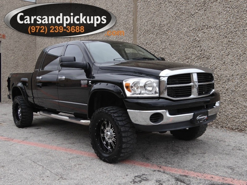2007 Dodge Ram 2500 4WD Mega Cab SLT Leather 2 OwnerClean Carfax2007 Dodge Ram 25004x4M