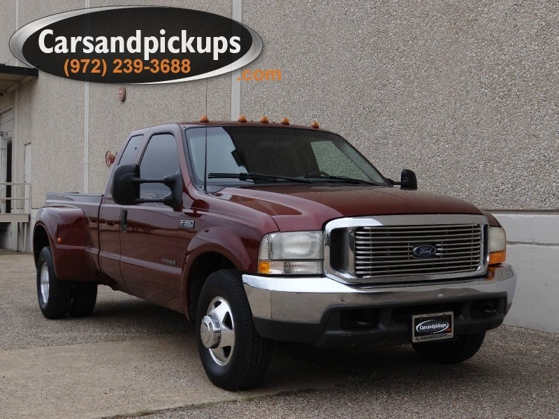 2000 Ford Super Duty F-350 DRW Supercab XLT 73L Powerstroke Diesel5 Speed Manual Transmissio