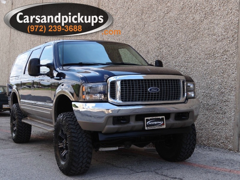 2000 Ford Excursion Limited 4WD Carfax Certified2000 Ford ExcursionLimited Package4x473L