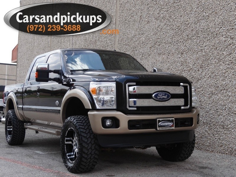 2011 Ford F-250 4WD Crew Cab King Ranch 2 OwnerClean Carfax2011 Ford F-2504x4Crew Cab6