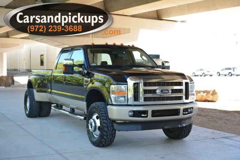 2008 Ford F-350 4WD Crew Cab King Ranch 2 OwnerClean CarfaxKing Ranch4X4Crew Cab64L P