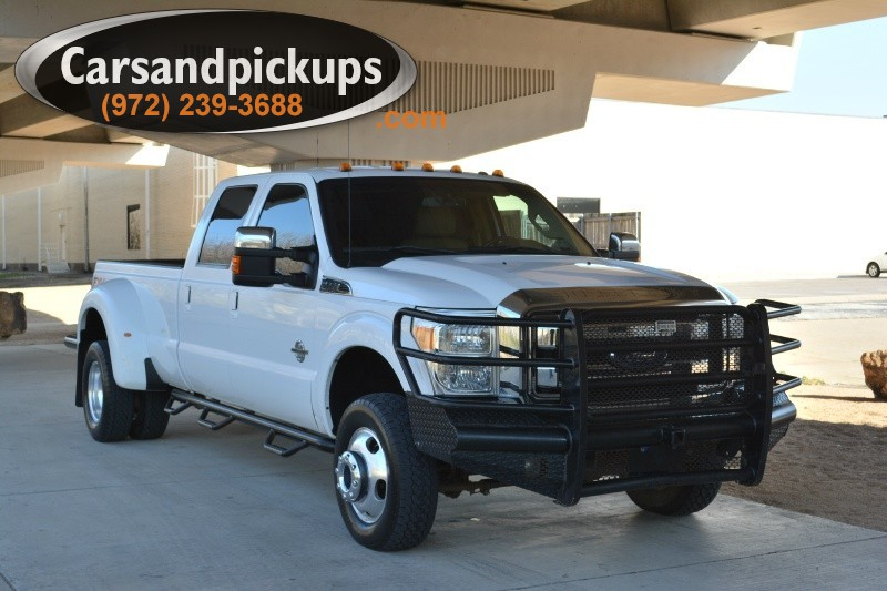 2011 Ford F-350 Dually 4WD Crew Cab Lariat 2 OwnerClean Carfax2011 Ford F-350Dually4x4