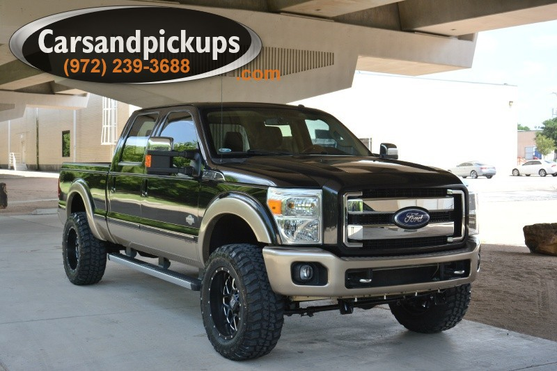 2011 Ford F-250 King Ranch 4WD Crew Cab King Ranch 2 OwnerClean Carfax2011 Ford F-2504x4