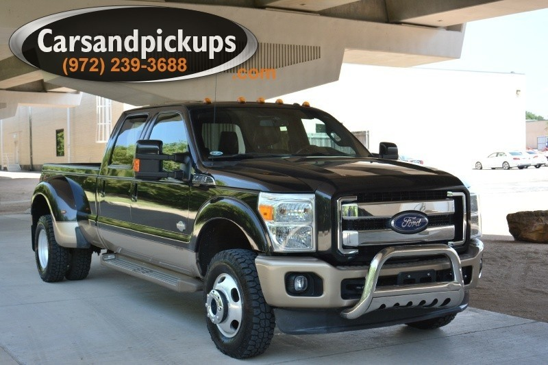 2011 Ford F-350 DRW 4WD Crew Cab King Ranch 2 OwnerClean Carfax2011 Ford F-350Dually4x