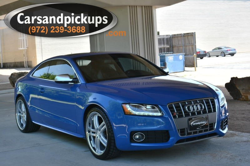 2011 Audi S5 2dr Cpe Auto Prestige 1 OwnerCarfax Certified2011 Audi S5CoupeAutomatic Tra