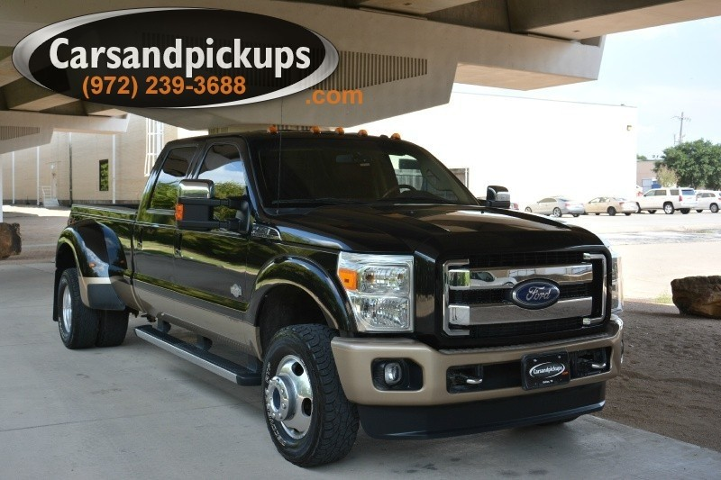 2011 Ford F-350 Dually 4WD Crew Cab 172 2 OwnerClean Carfax2011 Ford F350King Ranch4X4