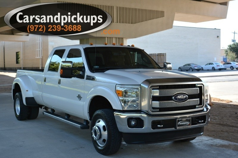 2013 Ford F-350 DRW 4WD Crew Cab Platinum 2 OwnerCarfax Certified2013 Ford F-350Platinum