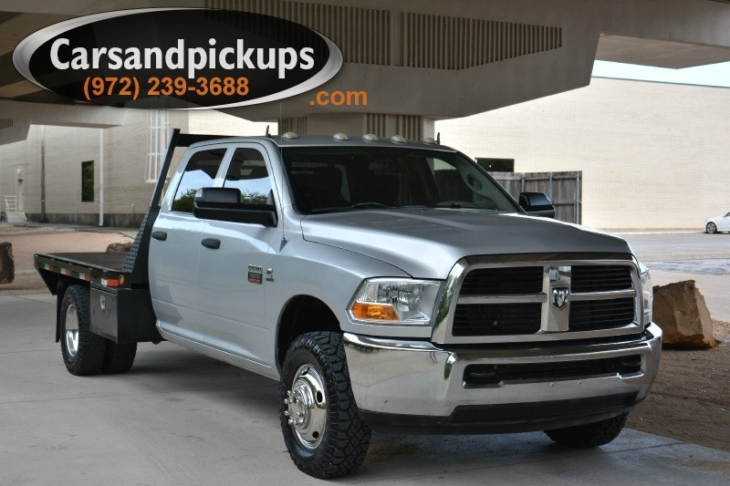 2011 Dodge Ram 3500 4WD Crew Cab Clean Carfax2012 Dodge Ram 35004x4Crew CabSLT Package