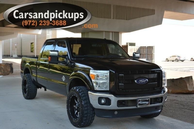 2011 Ford F-250 4WD Crew Cab Lariat 1 OwnerClean Carfax2011 Ford F-250Crew CabLariat Pac