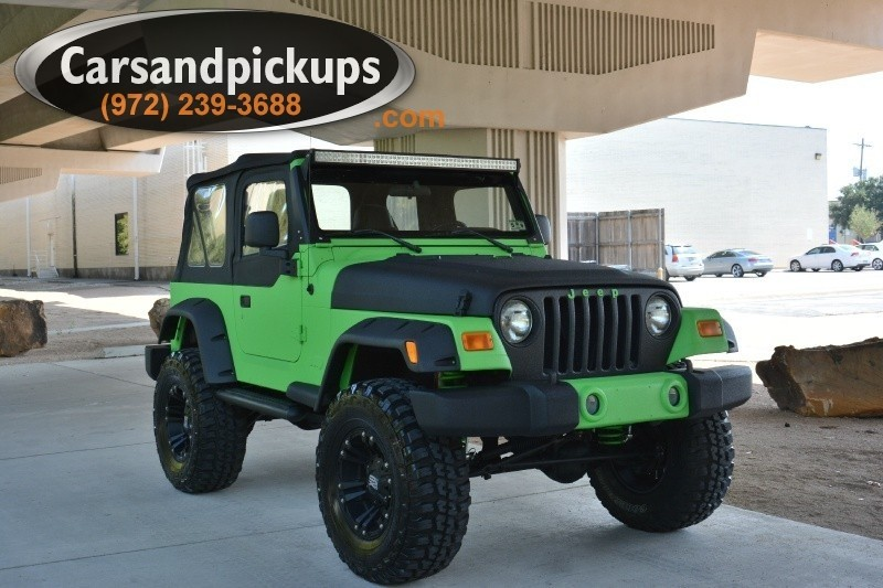 2006 Jeep Wrangler 2dr SE Clean Carfax2006 Jeep Wrangler2 DoorBrand New Kevlar Lined Exter