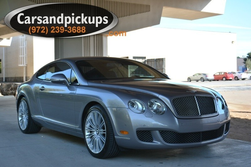 2010 Bentley Continental GT 2dr Cpe Speed 2 OwnerClean Carfax2010 Bentley ContinentalGT