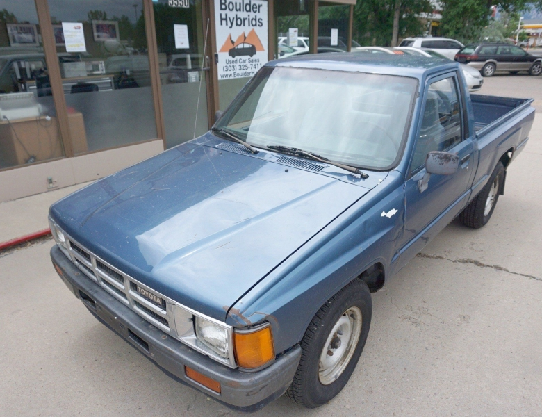 1988 toyota pickup base good old 4x2 toyota pick up cars - boulder, co at geebo