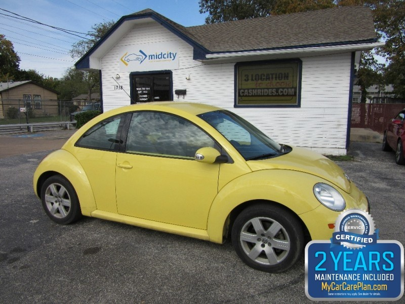Volkswagen New Beetle Coupe 2006