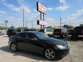 Lexus IS 250 SPORT HOLD UP ONLY  500.00 TOTAL DOWN 2010