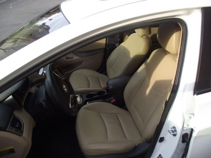 2013 Hyundai Elantra 4dr Sdn Auto Limited Alabama Pl White Tan 77907 miles Stock 152038 VIN