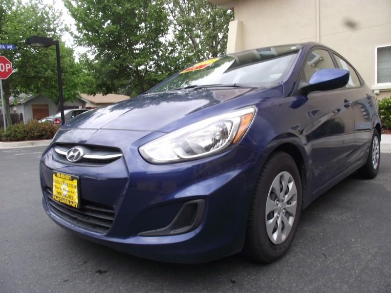 2015 Hyundai Accent 4dr Sdn Man GLS Blue 76100 miles Stock 793631 VIN KMHCT4AE4FU793631