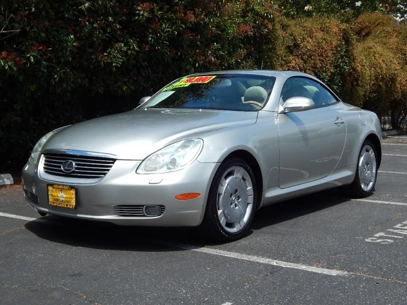 2002 Lexus SC 430 2dr Convertible Beige Tan 151300 miles Stock 026122 VIN JTHFN48Y1200261