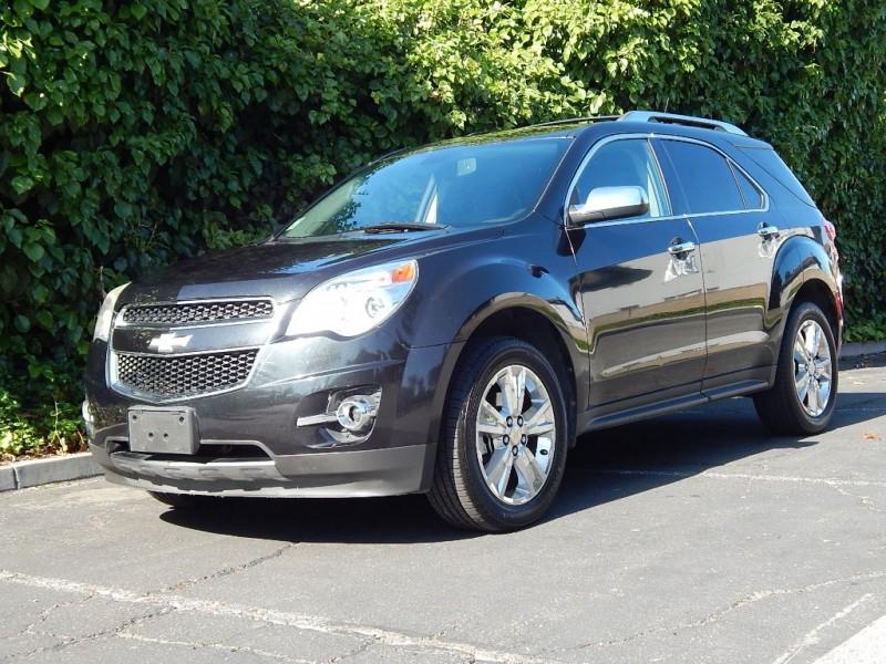 2010 Chevrolet Equinox AWD 4dr LTZ Gray Black 134100 miles Stock 258178 VIN 2CNFLGEY6A62581