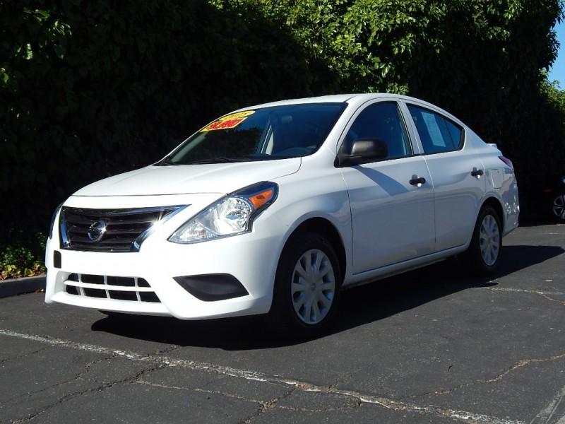 2015 Nissan Versa 4dr Sdn CVT 16 SV White Gray 29900 miles Stock 868514 VIN 3N1CN7AP5FL868