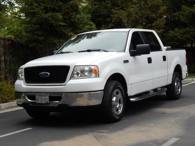 2006 Ford F-150 XLT White 110500 miles Stock B04914 VIN 1FTPW12546FB04914