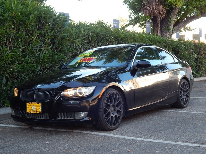 2007 BMW 3-Series 2dr Cpe 335i RWD Black 110400 miles Stock V82498 VIN WBAWB73537PV82498