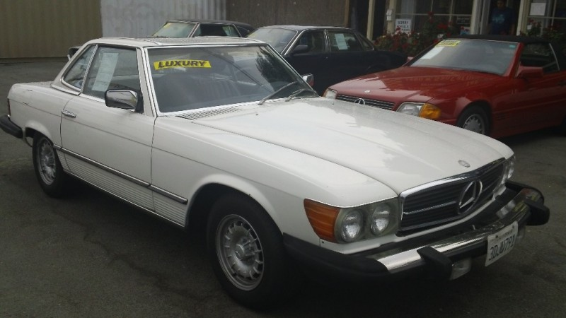 1983 Mercedes SL-Class 2dr Coupe 380SL 152900 miles Stock 021301 VIN WDBBA45A8DB021301